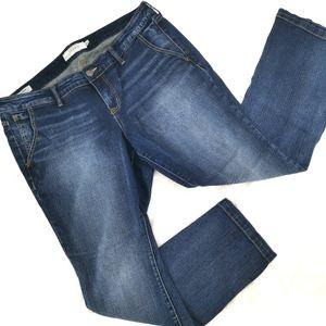 Torrid Women's 16S Mid Slim Boot Cut Blue Heart